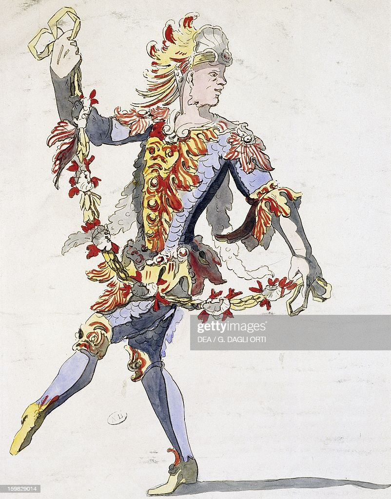 Triton S Costume For The Ballet Of King Louis Xiv Design By Jean News Photo Getty Images