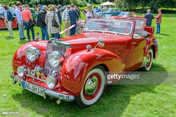 Triumph 1800 Roadster 1940-talet klassiska brittiska cabrioleter