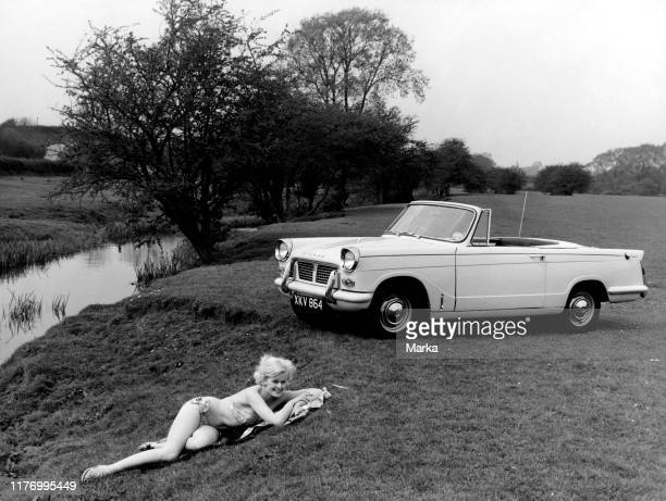 Triumph herald convertible 1959