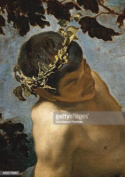 Triumph of Bacchus Los Borrachos by Diego Rodriguez de Silva y Velázquez 1928 1629 17th Century oil on canvas 165 x 225 cm