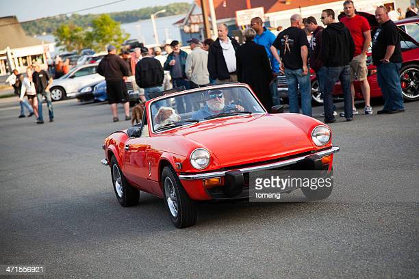 triumph spitfire 1500 - triumph motorcycle stock pictures, royalty-free photos & images