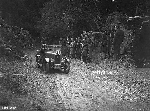 Triumph Super Seven 1929 832 cc Vehicle Reg No PK6627 Driver Thatcher FA Finished 1st Place Goat Track Ranmore Common Surrey JCC Halfday Trial Date...