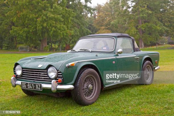 triumph tr5 - triumph motorcycle stock pictures, royalty-free photos & images