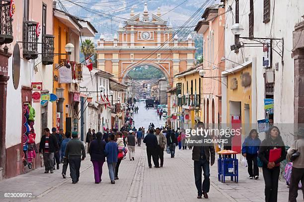 Triumphal arc, Ayacucho