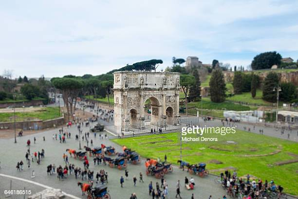 Triumphal Arch of Constantine in Rome