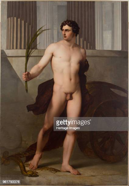 Triumphant Athlete 1813 Found in the Collection of Accademia di San Luca