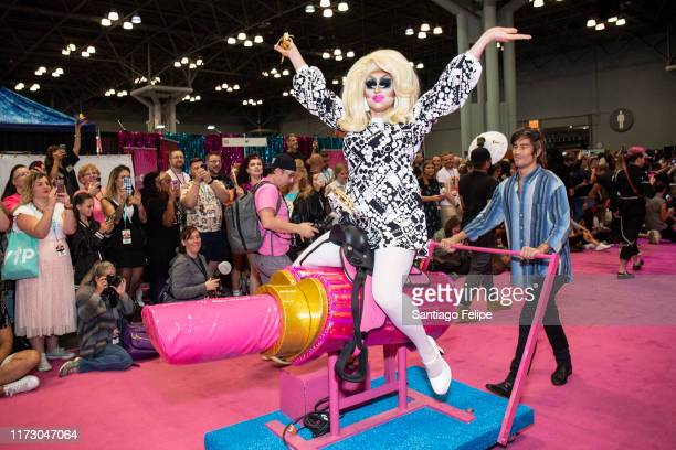 Trixie Mattel attends RuPaul's DragCon 2019 at The Jacob K Javits Convention Center on September 07 2019 in New York City
