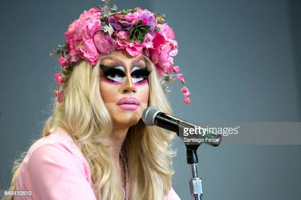 Trixie Mattel attends RuPaul's DragCon NYC 2017 at The Jacob K Javits Convention Center on September 10 2017 in New York City