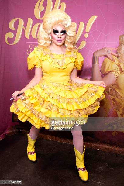 Trixie Mattel attends RuPaul's DragCon NYC 2018 at Javits Center on September 28 2018 in New York City
