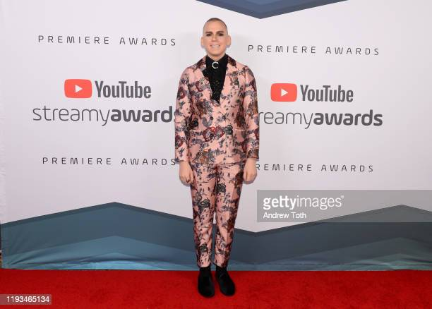 Trixie Mattel attends the 2019 Streamys Premiere Awards at The Broad Stage on December 11 2019 in Santa Monica California
