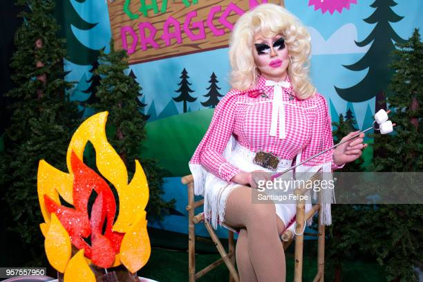 Trixie Mattel attends the 4th Annual RuPaul's DragCon at Los Angeles Convention Center on May 11 2018 in Los Angeles California