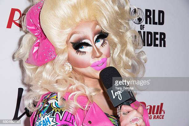 Trixie Mattel attends the Finale of Logo's 'RuPaul's Drag Race' Season 8 at The Orpheum Theatre on May 10 2016 in Los Angeles California