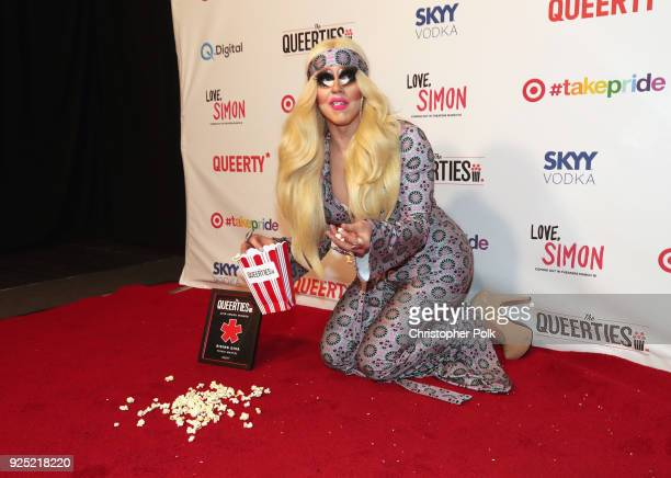 Trixie Mattel attends the Queerty presents 'The Queerties' Award Reception on February 27 2018 in Los Angeles California