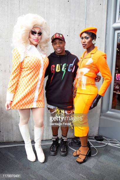 Trixie Mattel Todrick Hall and Shea Coulee attend RuPaul's DragCon 2019 at The Jacob K Javits Convention Center on September 08 2019 in New York City