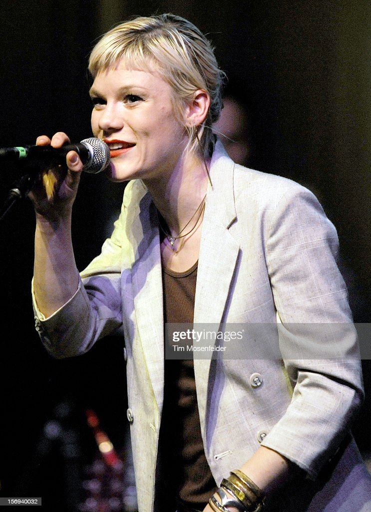 Trixie Whitley performs during The Last Waltz Tribute Concert at The Warfield on November 24, 2012 in San Francisco, California.