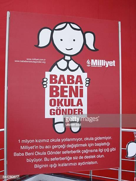 Kampagne der Tageszeitung Milliyet für die Einschulung von Mädchen