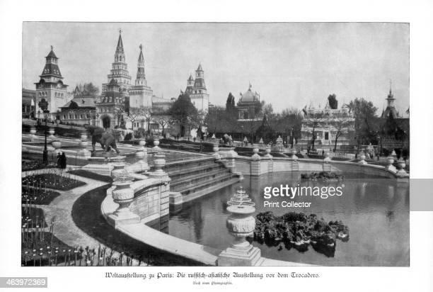 Trocadero Paris World Exposition The RussianAsiatic exhibition