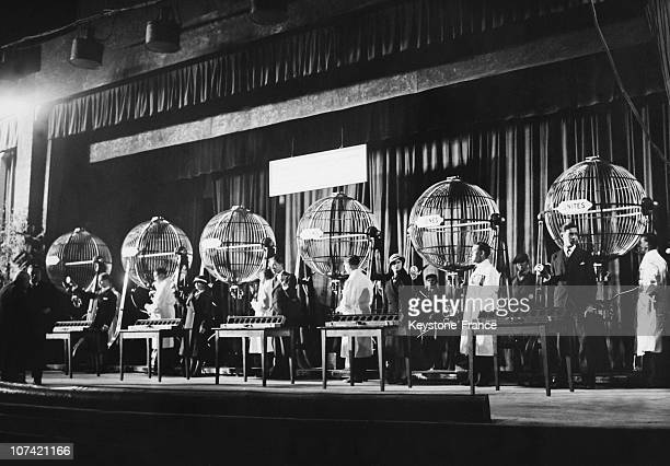 Trocadero Rehearsal For The National Lottery Draw In Paris On November 7Th 1933