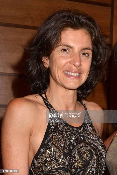Trofemina 2013 awarded reporter Anne Nivat attends the Trofemina Edition 2013' By Tentation at the Pyramides of Port Marly on June 10 2013 in Marly...