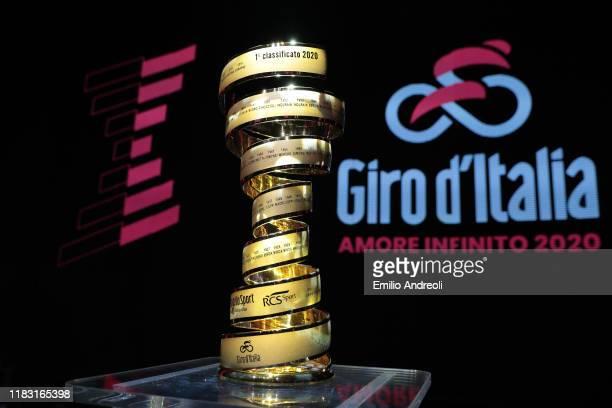 Trofeo Senza Fine / Trophy / during the 103rd Giro d'Italia 2020, Route Presentation / #Giro / on October 24, 2019 in Milan, Italy.