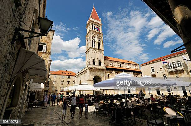 Trogir is a historic town and harbour on the Adriatic coast in Split-Dalmatia County.