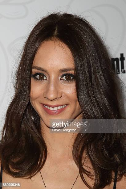 Troian Bellisario arrives at the Entertainment Weekly celebration honoring nominees for The Screen Actors Guild Awards at the Chateau Marmont on...