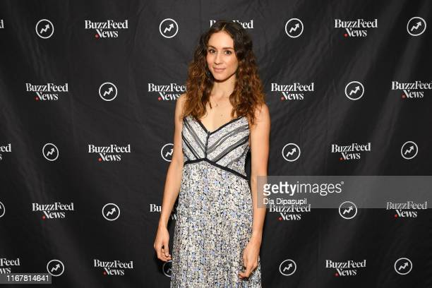 Troian Bellisario at BuzzFeed's AM to DM on August 13 2019 in New York City