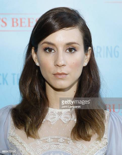 Troian Bellisario attends Burt's Bees Bring Back The Bees Campaign Launch at The Park on April 6 2017 in New York City