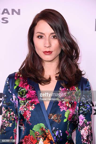 Troian Bellisario attends Harper's BAZAAR celebration of the 150 Most Fashionable Women presented by TUMI in partnership with American Express La...