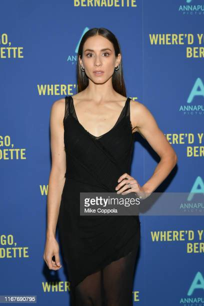 Troian Bellisario attends the Where'd You Go Bernadette New York Screening at Metrograph on August 12 2019 in New York City