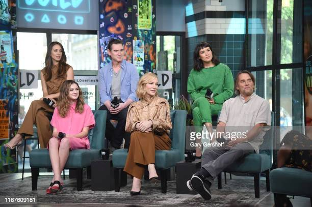 """Troian Bellisario Emma Nelson Billy Crudup Cate Blanchett Zoe Chao and Richard Linklater visit the Build Series to discuss the film """"Where'd You Go..."""