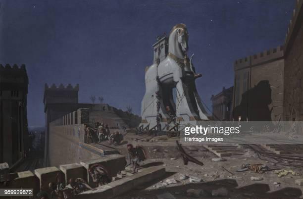 Trojan Horse 1874 Private Collection