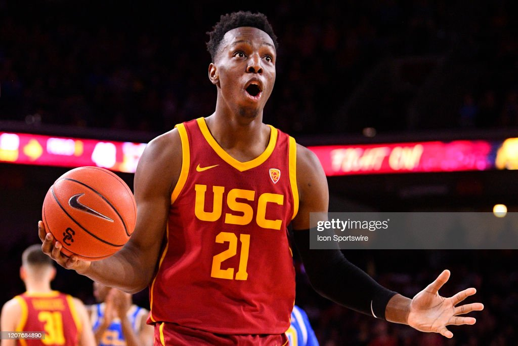 COLLEGE BASKETBALL: MAR 07 UCLA at USC : News Photo
