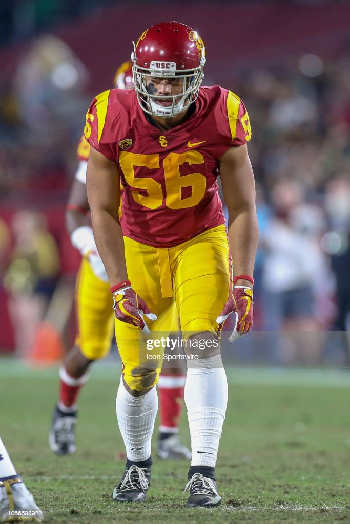 COLLEGE FOOTBALL: NOV 24 Notre Dame at USC : News Photo