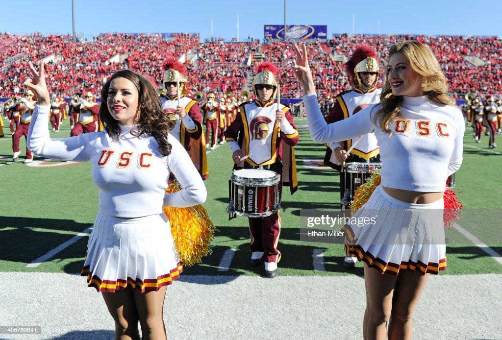 Royal Purple Las Vegas Bowl - Fresno State v USC : News Photo