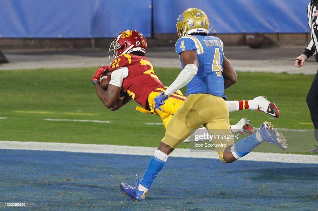 COLLEGE FOOTBALL: DEC 12 USC at UCLA : News Photo