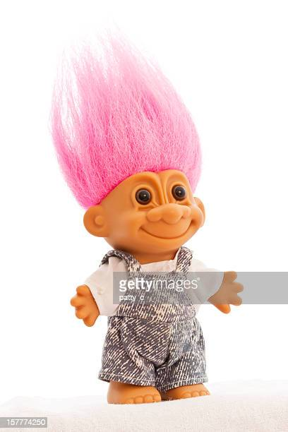 Troll Doll Isolated