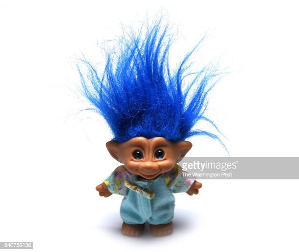 A troll doll one of many Iconic toys thru the decades for the parenting special section on August 2017 in Washington DC