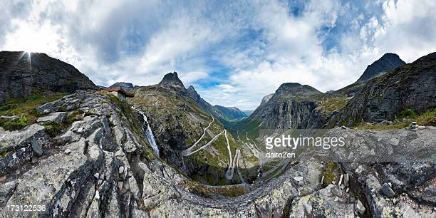 Trollstigen Mountain Pass Panorama, Norway