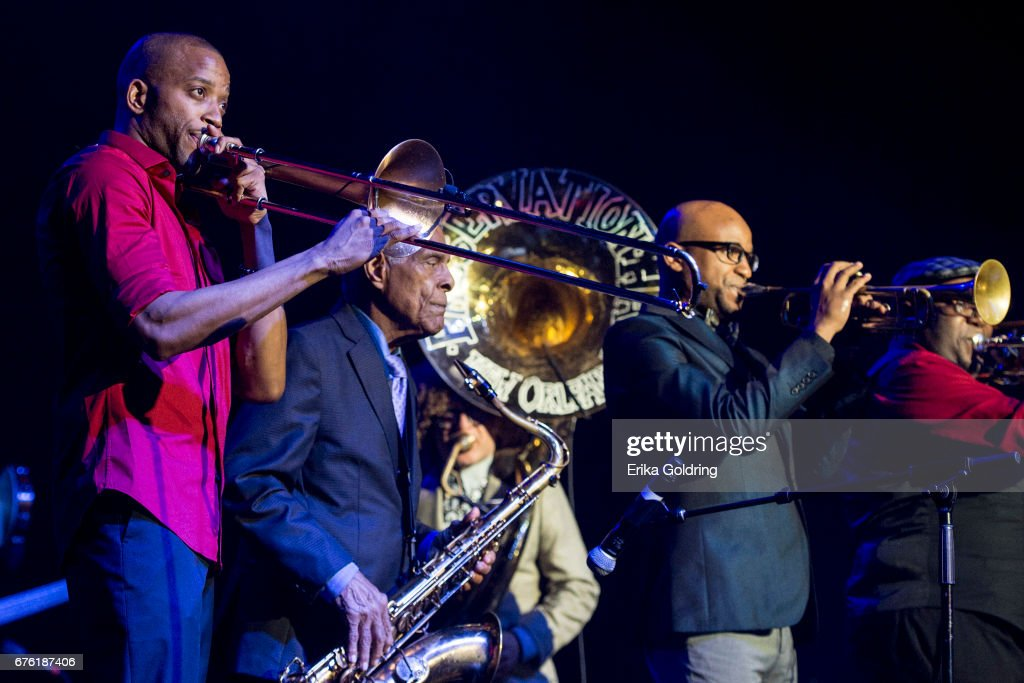 Trombone Shorty And Orleans Avenue's Treme Threauxdown : News Photo