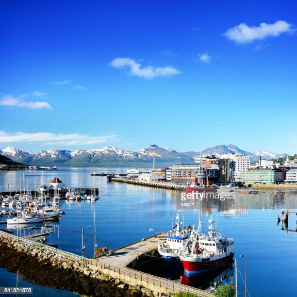 Tromso harbour, Norway