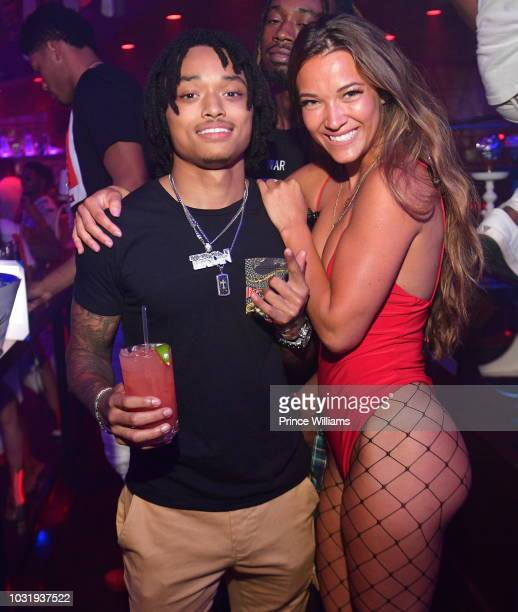 Tron Austin attends Labor Day Finale at Club Tongue Groove on September 4 2018 in Atlanta Georgia