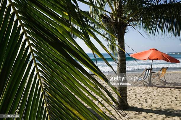 troncones, beach chairs, mexico - guerrero - fotografias e filmes do acervo