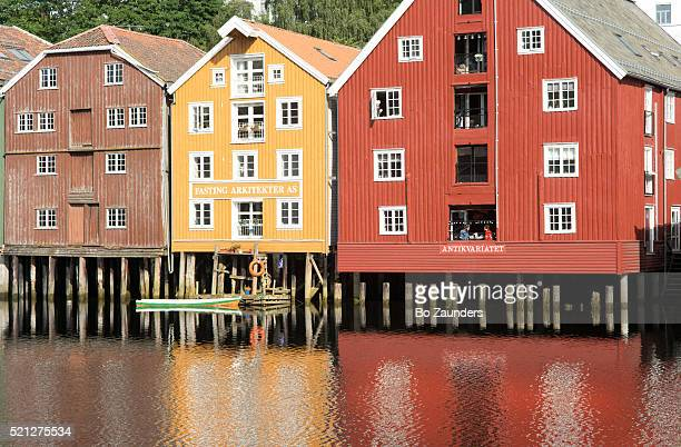 trondheim, norway - bo zaunders stock pictures, royalty-free photos & images