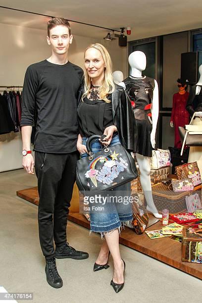 Tronje van Ellen and Anne Meyer-Minnemann attend the Petra Teufel & GALA Fashion Night on May 20, 2015 in Hamburg, Germany.