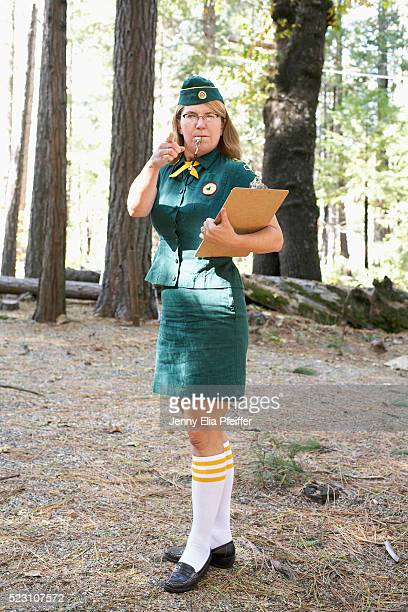 troop leader - girl scout stock pictures, royalty-free photos & images