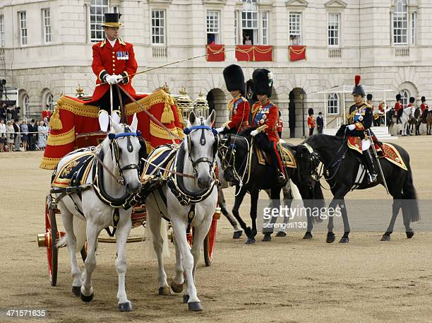 trooping the color uk royalty - june 15, 2013 - princess anne princess royal photos stock pictures, royalty-free photos & images