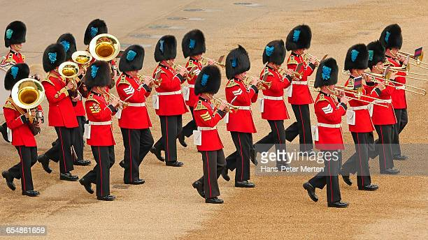 trooping the colour 2016, london - trooping the colour 2016 stock pictures, royalty-free photos & images