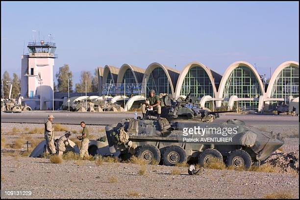 S Troops At Kandahar Airport On December 15Th 2001 In Kandahar Afghanistan