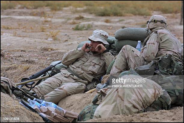 S Troops At Kandahar Airport On December 17Th 2001 In Kandahar Afghanistan
